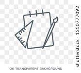 school material icon. trendy...   Shutterstock .eps vector #1250777092