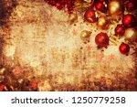christmas background. christmas ... | Shutterstock . vector #1250779258