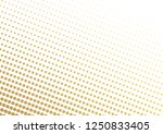 abstract halftone gold dotted... | Shutterstock .eps vector #1250833405