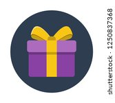 gift box flat icon. you can be...