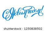 vector illustration. happy new... | Shutterstock .eps vector #1250838502