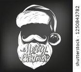 santa claus  christmas symbol... | Shutterstock .eps vector #1250843782