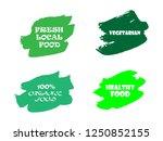 organic  100  bio  eco  natural ... | Shutterstock .eps vector #1250852155