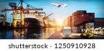 logistics and transportation of ...   Shutterstock . vector #1250910928