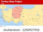 turkey   the ottoman dynasty... | Shutterstock .eps vector #1250927932