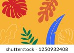 abstract pattern with tropical... | Shutterstock .eps vector #1250932408