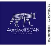aardwolf scan technology logo...   Shutterstock .eps vector #1250948782