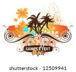 abstract vector illustration...   Shutterstock .eps vector #12509941