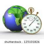 3d globalization concept | Shutterstock . vector #125101826