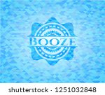 booze sky blue emblem with...   Shutterstock .eps vector #1251032848