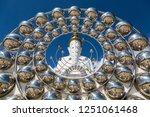 Five Buddhas At Wat Phra Thad...