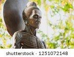 buddha statues suffering six... | Shutterstock . vector #1251072148