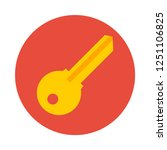 key flat icon. you can be used...