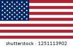 vector illustration of the flag ... | Shutterstock .eps vector #1251113902