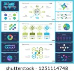 creative business infographic... | Shutterstock .eps vector #1251114748