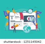 concept professional training ... | Shutterstock .eps vector #1251145042