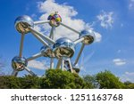 A picture of the Atomium (Brussels).
