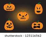 set of vector illustration...   Shutterstock .eps vector #125116562