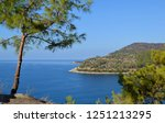 mediterranean mountains and... | Shutterstock . vector #1251213295