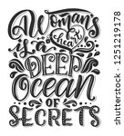 hand drawn romantic typography... | Shutterstock . vector #1251219178