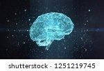 machine learning fog...   Shutterstock . vector #1251219745