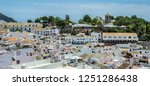 beautiful aerial view of mijas  ... | Shutterstock . vector #1251286438