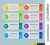 infographics design template ...   Shutterstock .eps vector #1251308965