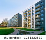 New apartment house residential ...