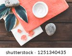 composition top view of... | Shutterstock . vector #1251340435