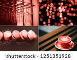 creative collage in living... | Shutterstock . vector #1251351928