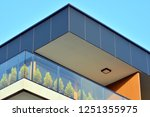 modern apartment buildings on a ... | Shutterstock . vector #1251355975