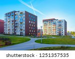 apartment house and home...   Shutterstock . vector #1251357535