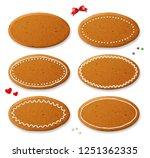 set of vector realistic... | Shutterstock .eps vector #1251362335