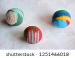 colorful handmade woven... | Shutterstock . vector #1251466018