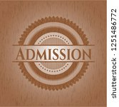 admission wood signboards | Shutterstock .eps vector #1251486772