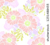 abstract elegance seamless... | Shutterstock . vector #1251488455