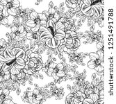 abstract elegance seamless... | Shutterstock .eps vector #1251491788