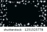 snow blizzard effect. holiday... | Shutterstock .eps vector #1251525778