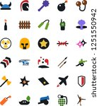 vector icon set   bomb vector ... | Shutterstock .eps vector #1251550942