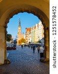 gdansk  poland  october 14 ... | Shutterstock . vector #1251578452