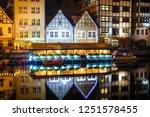 gdansk  poland  october 13 ... | Shutterstock . vector #1251578455