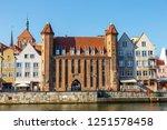 gdansk  poland  october 14 ... | Shutterstock . vector #1251578458