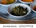 korean food. typical entrance... | Shutterstock . vector #1251579718