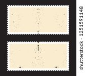 postage stamps in grunge style. ... | Shutterstock .eps vector #1251591148