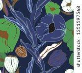 vector illustration of stylized ... | Shutterstock .eps vector #1251597568