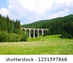 old railway bridge | Shutterstock . vector #1251597868