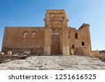 ruins of the ancient city of...   Shutterstock . vector #1251616525