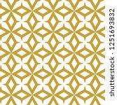 seamless geometric ornamental... | Shutterstock .eps vector #1251693832
