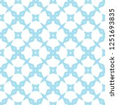 seamless geometric ornamental... | Shutterstock .eps vector #1251693835