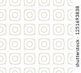 seamless geometric ornamental... | Shutterstock .eps vector #1251693838